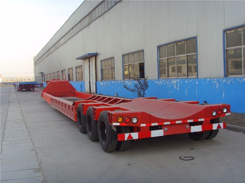 wind turbine transport trailer