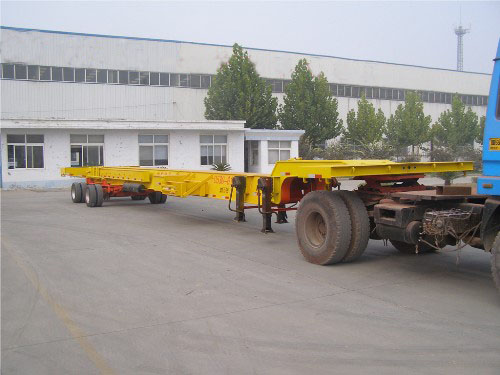 wind blade transport trailer